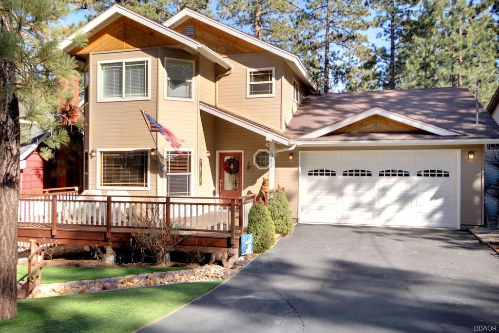 Photo of home for sale at 387 Wren Drive, Big Bear Lake CA